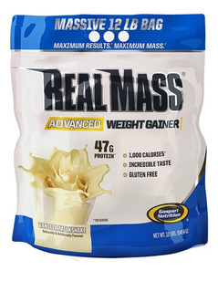 Hipercalórico Real Mass Advanced 5.4kg - Gaspari Nota Fiscal