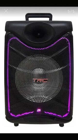 Caixa De Som Amplificada Bluetooth Trc 517
