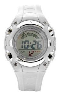 Reloj Mujer Dama Alarma Sumergible Deportivo - Od01-008bl