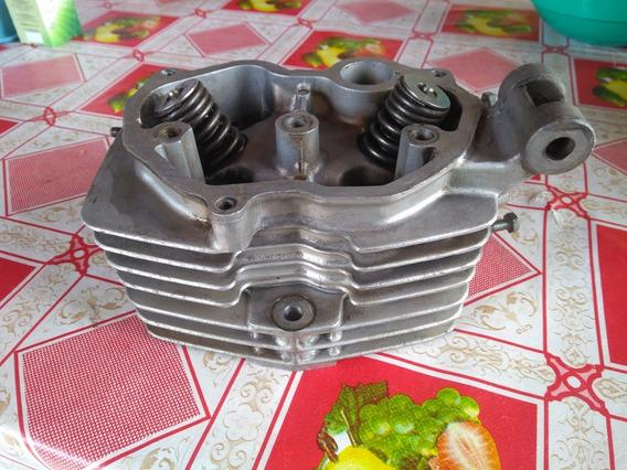 Cabeçote Cg 125 Com Valvulas Pronto Para Uso