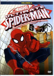 Marvel Ultimate Spider Man Vol 2 - Dvd Original Nuevo Sellad