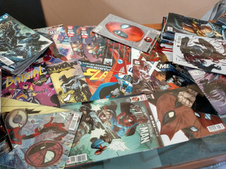 Lote 21 Cómics Variados Marvel Y Dc Por 450 Con Envío Gratis
