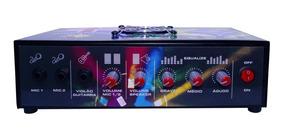 Amplificador D Mesa Turbo Dance Trinity 5.1 300wrms 2 Canais