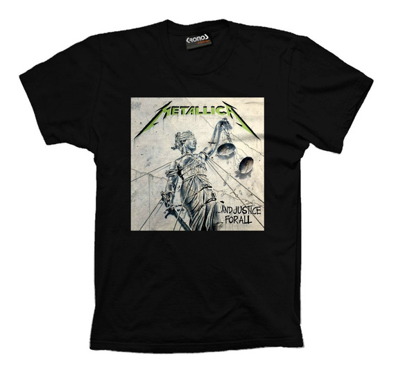 Remera Metallica And Justice For All Retro Vintage 2 Variant