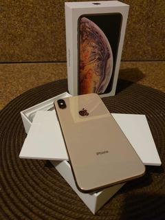 iPhone Xs Max 256gb Gold Impecável Garantia Até Maio De 2020