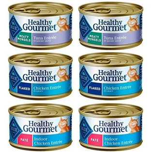 Blue Buffalo Healthy Gourmet Comida Natural Para Gatos 3 Sab