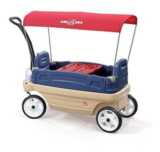 Carrito Vagón De Turismo Y Paseo Con Carpa Para Niños