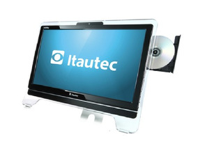 All In One Itautec Infoway Amd 8g Hd 160g Win 7 Garantia