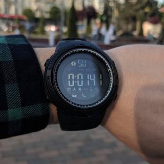 Relógio Skmei Pedometro Bluetooth Calorias Smartwatch+brinde