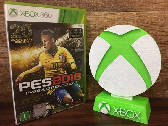Pes 2016 Pro Evolution Soccer Xbox 360 Original Mídia Física