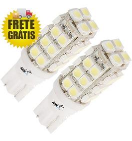 2 Lampadas Pingo T10 28 Leds Xenon Meia Luz Frete Gratis