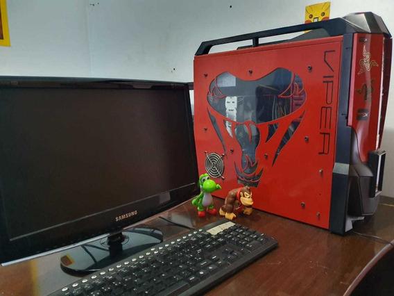 Computador + Monitor E Teclado (2.85ghz   4gb Ram 1gb Gpu)