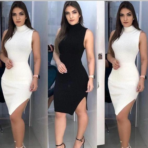 Vestido Em Linha - Off White