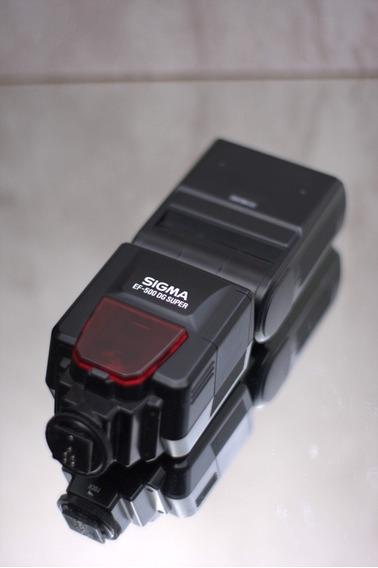 Sigma Ef-500 Dg Super Para Canon, Ttl, Foto Célula, E Mais..