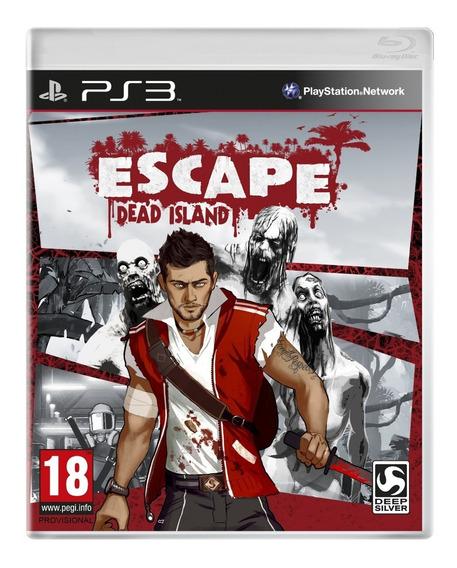 Escape Dead Island Ps3 - Mídia Física Lacrado