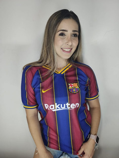 Camisa Baby Look Barcelona Feminina 2019/20 Envio Imediato
