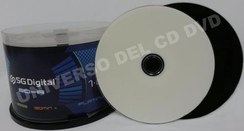 25 Disco Blu Ray Virgen Imprimible Full Face