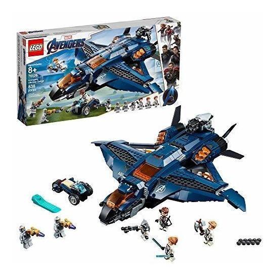 Lego Marvel Endgame Quinjet De Los Avengers Juguete Bloques