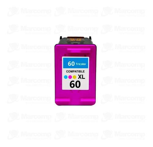 Imagen 1 de 4 de Cartucho Alternativo 60 Xl Color D1660 D2530 D2545 D2560