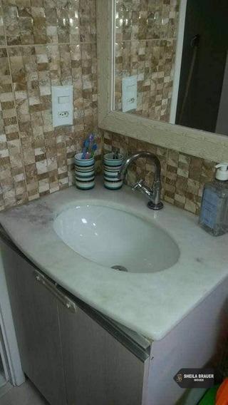 Apartamento Com 2 Dormitórios Para Alugar, 52 M² Por R$ 1.500/mês - Jardim Flor Da Montanha - Guarulhos/sp - Ap0022