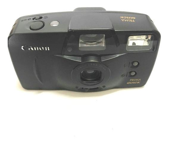 Câmera Fotografica Analogica Canon Prima Quick Funcionando