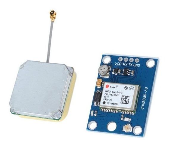 Módulo Gps Neo6mv2 Neo-6m Apm2.5 P/ Arduíno Esp Raspberry