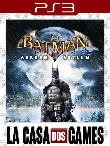Batman: Arkham Asylum - Psn Ps3 - Envio Imediato