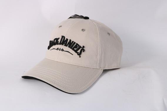 Gorra Jack Daniels Color Cafe Claro Letras Negras