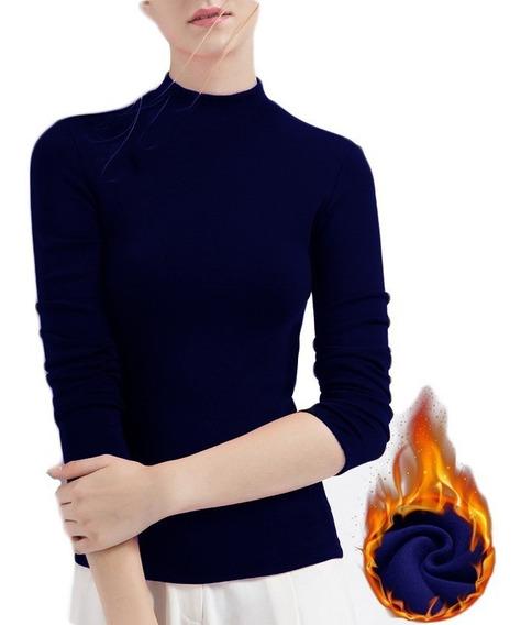 Buso Buzo Camisa Ropa Termica Mujer Invierno Interior Fleece