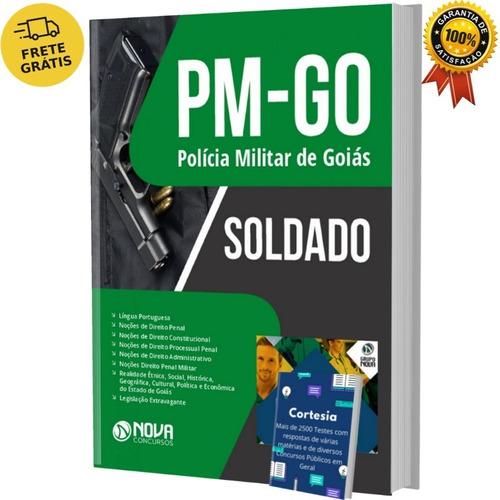 Imagem 1 de 5 de Apostila Pm Go - Soldado Praça De 2ª Classe - Pm Goiás