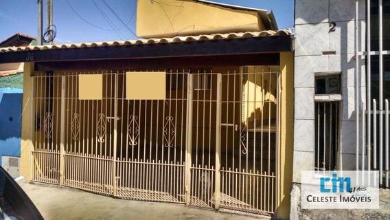 Casa Residencial Para Venda E Locação, Jardim Santo Antônio, Boituva - Ca0227. - Ca0227