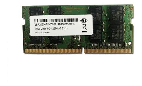 Imagem 1 de 1 de Memória Notebook 16gb Ddr4 2666mhz 1,2v Pc4-2666v-se1-11