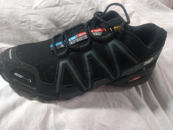 Zapatillas I-run 3d Hombre Trekking