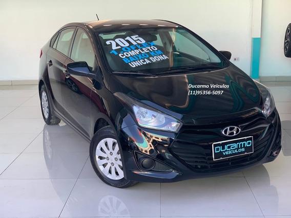 Hyundai Hb20s Comfort Plus 1.0 Flex 2015 Unica Dona Baixo Km