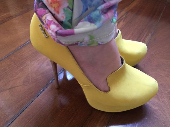 Meia Pata Colcci - Amarelo 37