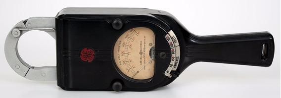 Antigo Amperimetro Voltimetro Alicate General Eletric Ge