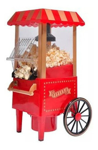 Maquina Para Hacer Canchitas Con Rueda, Popcorn