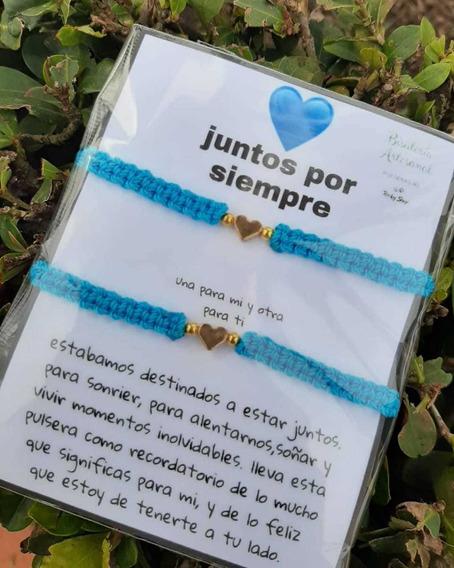 Pulsera,personalisada Azul