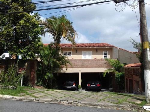 Imagem 1 de 30 de Casa Com 3 Dormitórios À Venda, 375 M² Por R$ 1.300.000,00 - Granja Viana - Cotia/sp - Ca0489