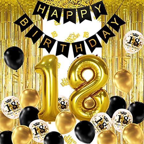 Decoración Para Fiesta De 18 Cumpleaños. Marca Pyle