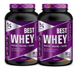 Best Whey Protein 2 Lb 2x1 Xtrenght Proteina Potenciada