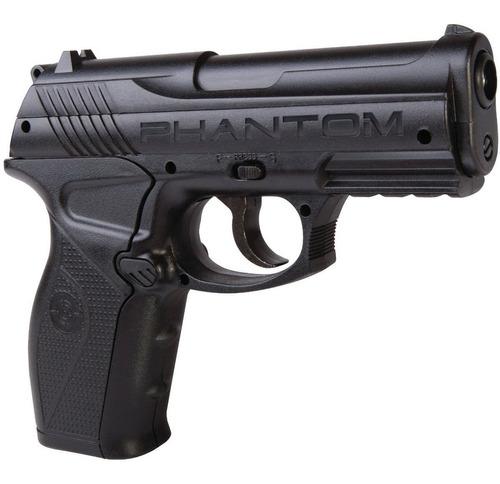 Pistola Crosman P10 Phantom Balines + Co2 + Lentes