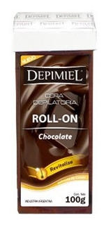 Cera Depilatoria Depimiel Roll On Env X100g
