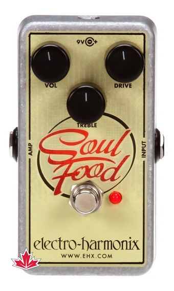 Pedal Electro Harmonix Soul Food Transparent Overdrive