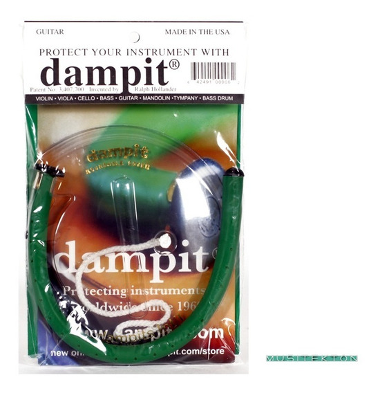 Humidificador Para Guitarra Dampit - Nuevo - Envío Gratis