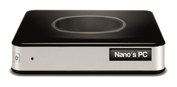 Cpu Nano Pc Tob Compact Dual Core 2.4ghz 4gb 500gb Wifi Hdmi
