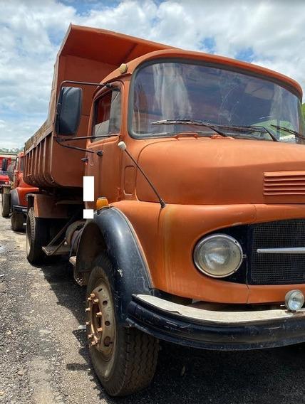 Caminhão Caçamba Mercedes Benz 1513 Ano 1973