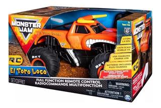 Monster Jam El Toro Loco Camiontea A Control Remoto