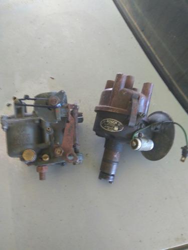 Imagen 1 de 3 de Fusca Distribuidor Y Carburador Alemán