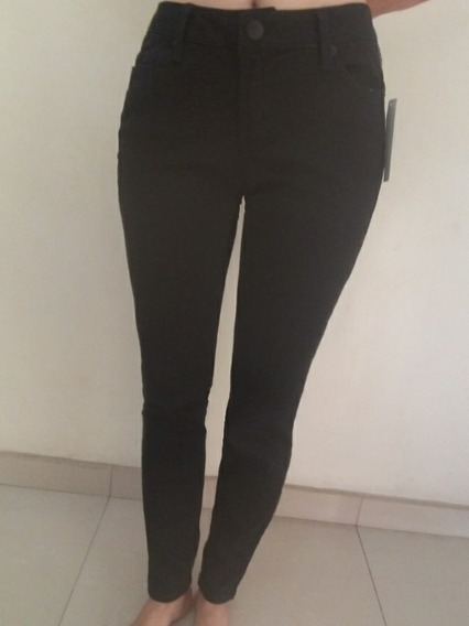 Jeans Pantalon Negro Nuevo Talla S/9
